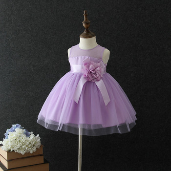 264620ea44b8d Best Selling Kids Frock Princess Baby 1 Year Old Party Dress Purple Flower  Girls' Dresses Summer One Piece Children's Dress - Buy Children's ...