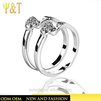 Jingli Jewelry Unique Birthday Gifts For Best Friend Silver Gemstone Rings