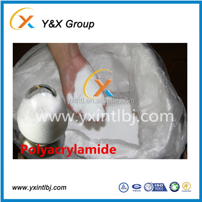 Alibaba Chemicals Shopping online gold price high molecular weight polyacrylamide YXFLOC