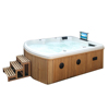 Outdoor family spa/bath tube spa/massag hot tub outdoor spa pool sexi massg spa