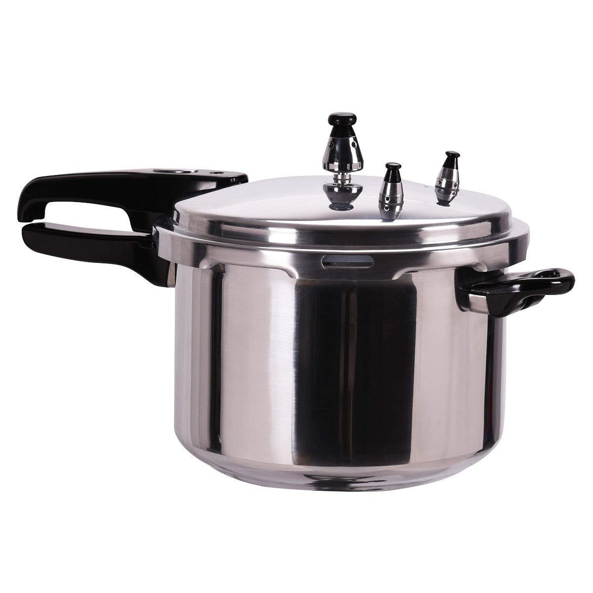 BeUniqueToday 6-Quart Aluminum Pressure Cooker Canner, Pressure Cooker With Multi-Safety Devices, Cooker 6 Quart Aluminum Pressure Canner Pot Kitchen Fast New Cooking Tool, Pressure Cooker Canner