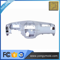 Custom injection molded of automotive center console plastic plate