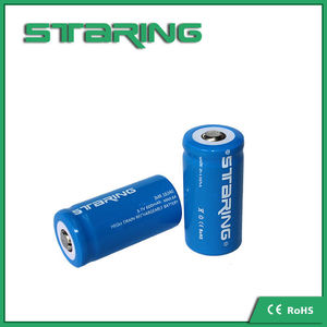 Wholesale Alibaba 16430 Li ion Battery / 16340 3.7v Rechargeable Battery