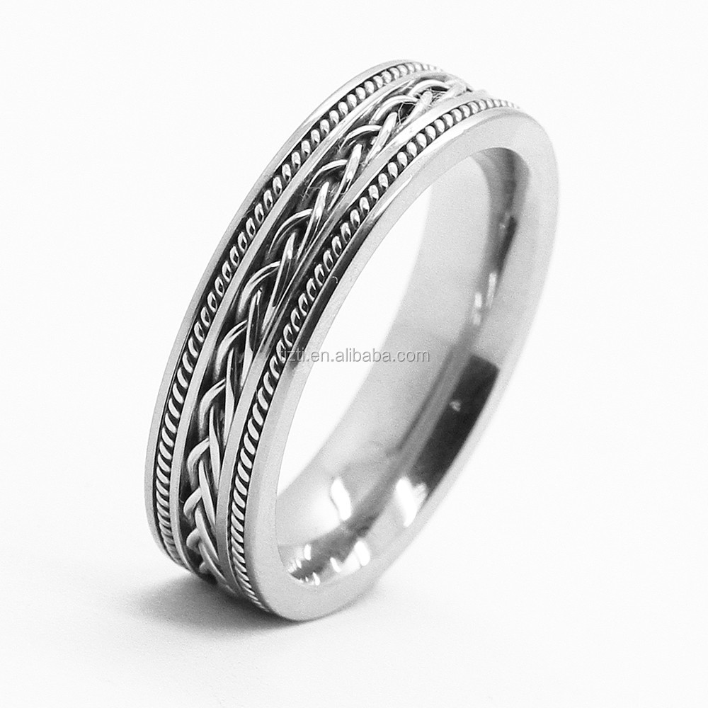 design your own stainless steel ring jewelry men ring