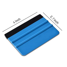 4 Pack Felt Squeegee ห่อเครื่องมือ, 4 ''นิ้ว Premium Scratch - Proof Decal ตัดไวนิล Squeegee เครื่องมือที่มีประโยชน์