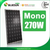 270w 60 cell solar energy grid tie monocrystalline pv module solar panel