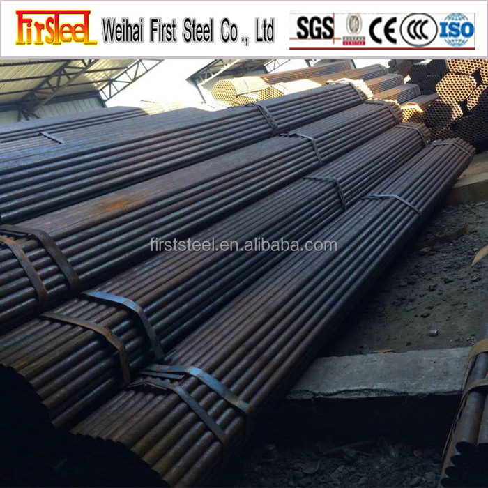 Relaible Supplier Black Iron Pipe Steel Tube Furniture