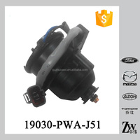 New arrival car electric condenser fan motor 12V radiator fan motor 19030-PWA-J51 for HON-DA 19030PWAJ51