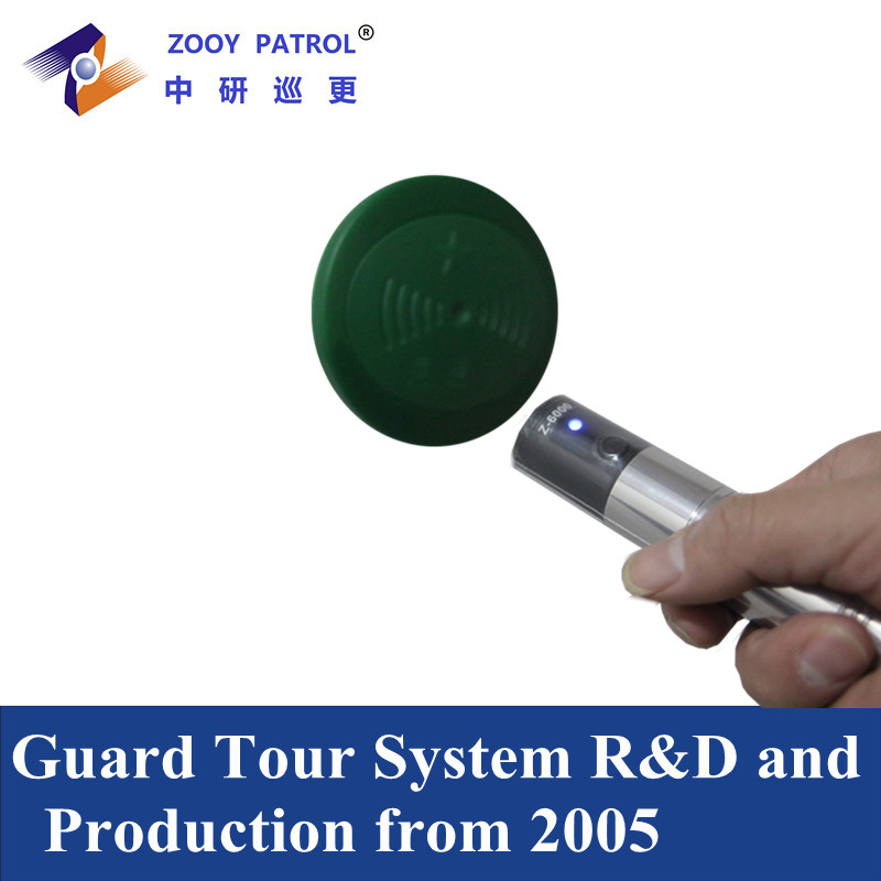 Waterproof Guard Tour Patrol System Security Guard Tracking
