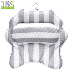 2018 New Spa Bath Pillow With Suction Cup And Hook