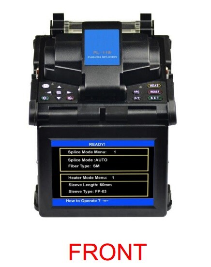 MK FL-118 fusion splicing machine / china supplier fiber optic fusion splicer