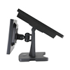 No noise and low heat double screen POS terminal with robust dual screen stand