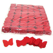 Butterfly shape tissue paper confetti
