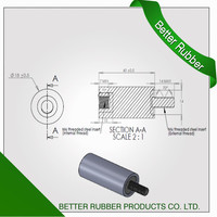 Better Rubber M6 isolator From China