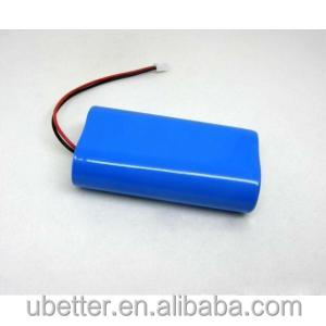 7.4V 2600mAh Power Bank Solar Light Lithium Battery Pack with high discharge rate