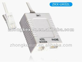 Adsl Dsl Rj11 Socket Modem Cable To Bt Telephone Line / Wire ...