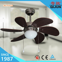 Hugger Low-Profile 30 In. Brushed Nickel Ceiling Fan With Frosted Dome Light