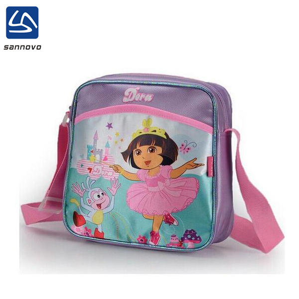 sannovo wholesale cute dora cross body latest school bags for girls