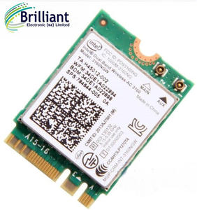 For intel Dual band Wireless-AC 3160 3160NGW NGFF M 2 Wifi Bluetooth  802 11ac 2 4G/5Ghz Laptop Wlan BT 4 0 Combo wireless Card