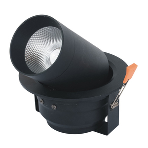 3 Inch Deep Recessed Decorative Dmx Controlled Rgb Dimmable Led Gimbal Downlights Fixture