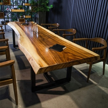 China Gold Supplier Good Quality Live Edge Acacia Walnut Slabs Wood Rustic  Dining Table Top - Buy Wood Slab,Live Edge Wood Slab,Wood Table Top Product