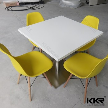 Strange Acrylic Solid Surface Hot Sale Square Table Square Table Cafe Chairs And Tables Buy Restaurant Tables And Chairs Dining Table And Chair Used Tables Home Remodeling Inspirations Genioncuboardxyz