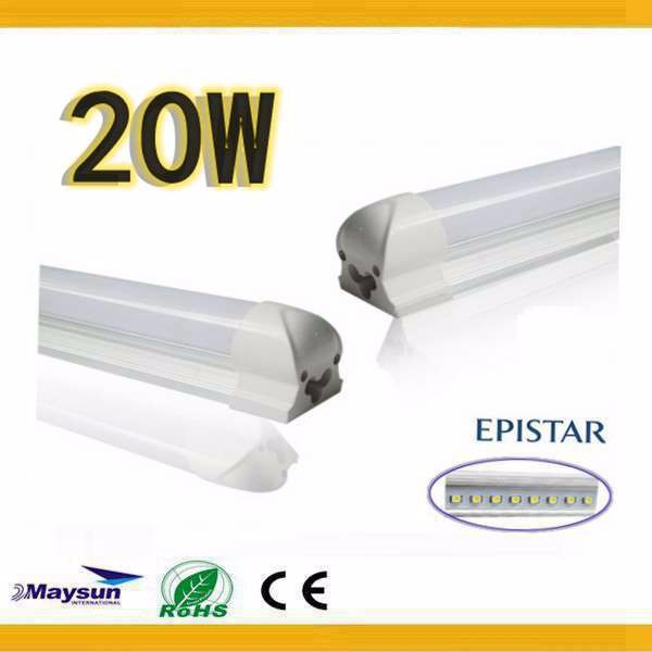 Hight quality 2835 T8 1.2m 20W smd led tube light