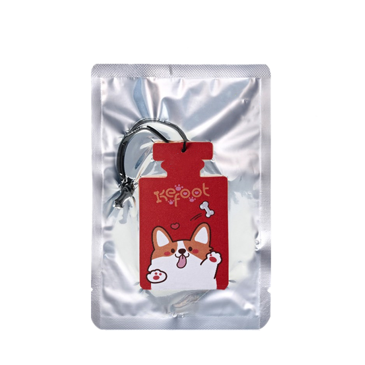 Customized Design Factory Price Hanging Car Air Freshener/ Paper Air Fresher Car