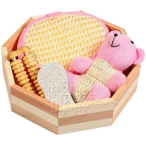 Productos de belleza spa ba o set regalo para las mujeres for Productos de bano
