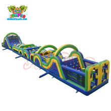 NEW PVC customized cheap giant adult boot camp inflatable obstacle course for sale