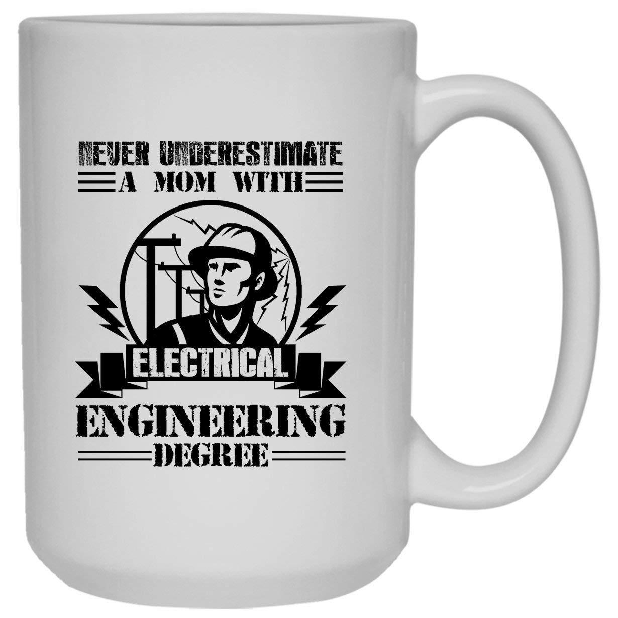 Electrical Engineering White Mugs - Electrical Engineering Ceramic Coffee Mug 15oz