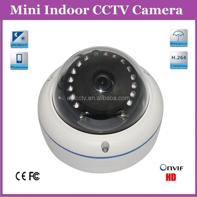 420Tvl Mini Sony CCD Waterproof Vandalproof Dome Indoor Camera De Surveillance Espion With 3.6mm Lens 30M Night Vision