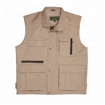 Custom fishing hunting multi pocket vest Kids fishing vest for fishing