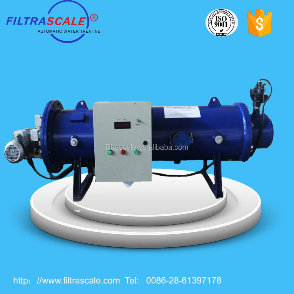 Electrocoagulation wastewater treatment machine for power plant