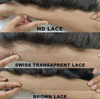 indian illusion 13x6 wholesale raw hd lace frontal super thin swiss transparent virgin human lace frontal cuticle aligned hair
