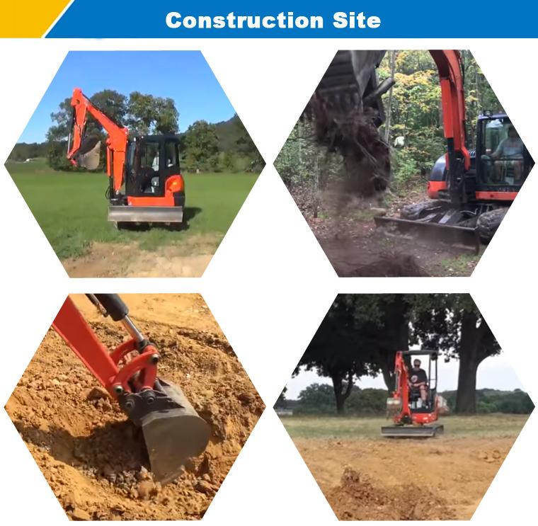 Costruzione Mining Escavatore Piccolo Mini Scavatrice per la Vendita