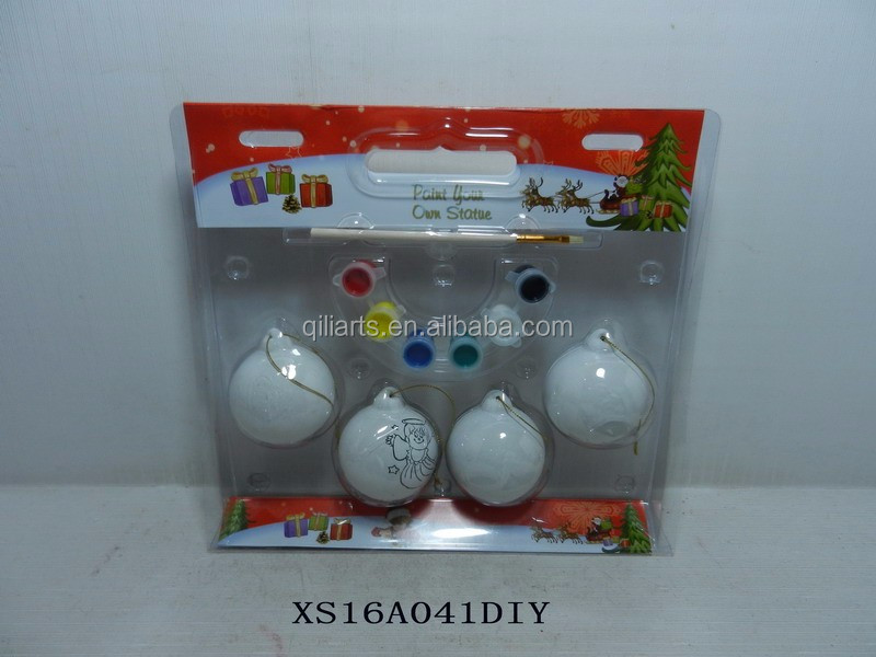 personalized christmas ceramic baubles diy ball bauble - Christmas Light Controller Diy