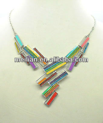 Fashion earring,necklace,jewelry sets,multi colors,epoxy chain jewelery
