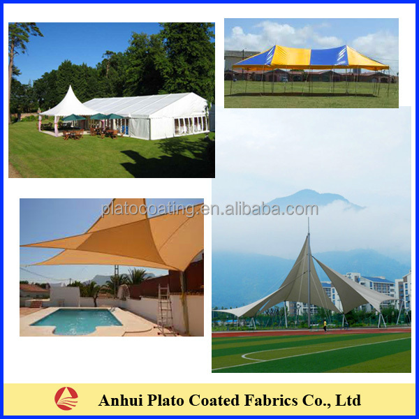 pvc coated polyester tent fabric for tent/ membrane/marquee/awnings/canopies /  sc 1 st  Alibaba & Pvc Coated Polyester Tent Fabric For Tent/ Membrane/marquee ...