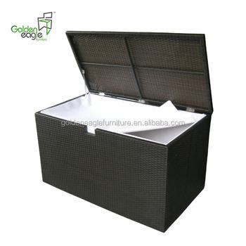 Home Indoor Bedroom Or Outdoor Furniture Poly Rattan Waterproof Outdoor Cushion Storage Box Buy Waterproof Rattan Storage Box Storage Box Outdoor