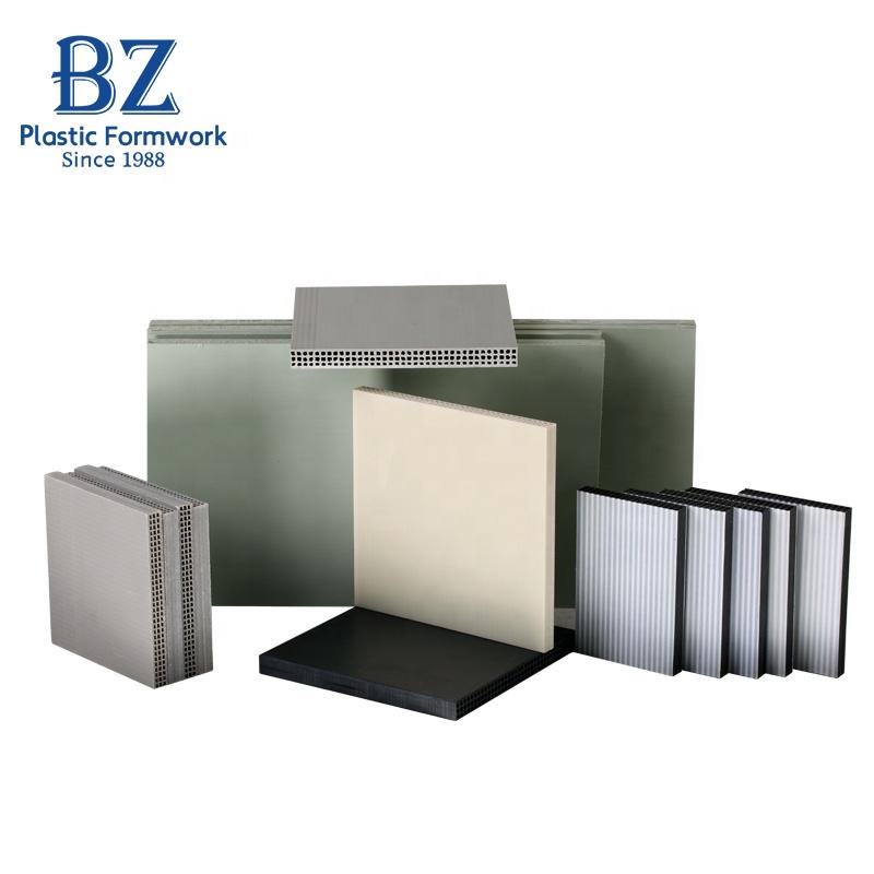 Building Materials Molds Waterproof Reusable Plastic Formwork For Column  Concrete - Buy Plastic Formwork For Concrete,Reusable Plastic