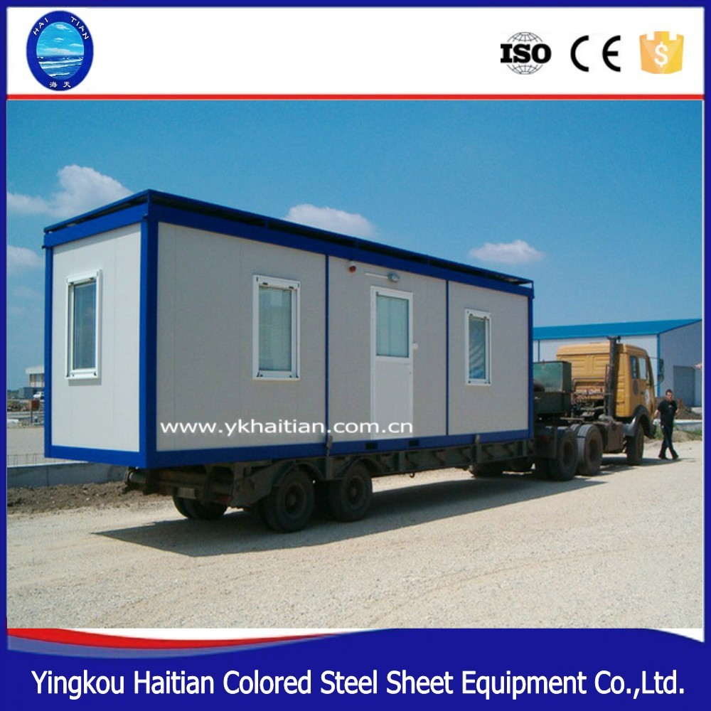 Dormitory warehouse office 40ft 20ft Steel Structure Sandwich panel Activity modern bedroom movable container house price