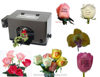flower printer machine