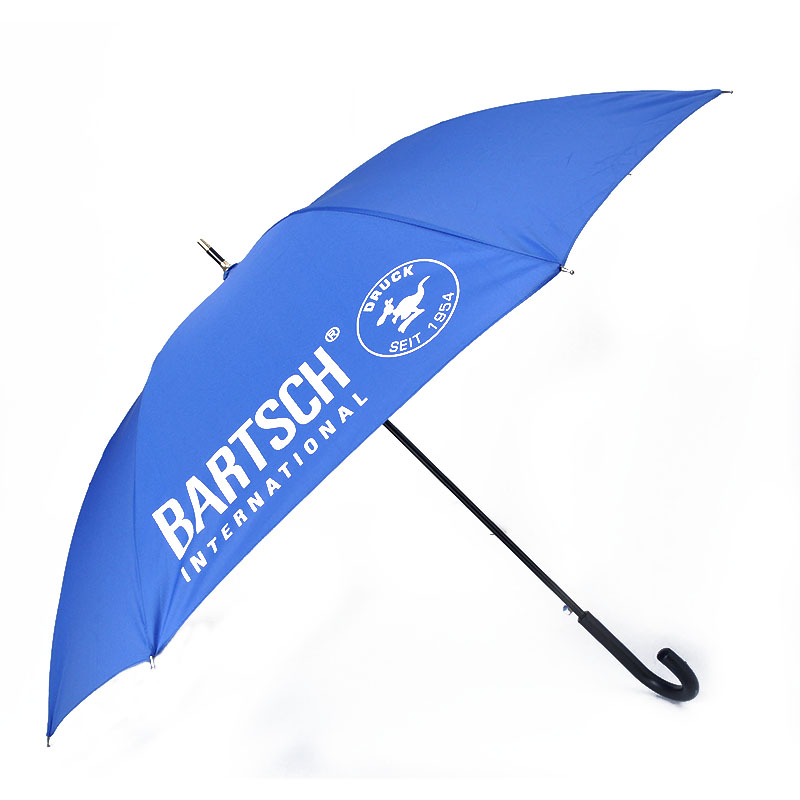 S23-06 strong windproof fiberglass sun and rain straight umbrella