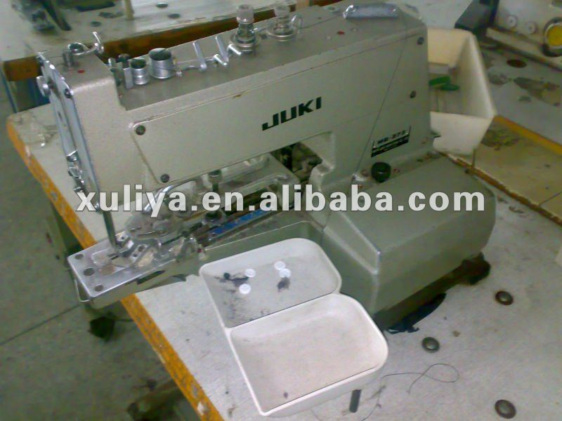 Juki Mb-372 373 Used Second Hand Old Button Sewing Machine Japan ...
