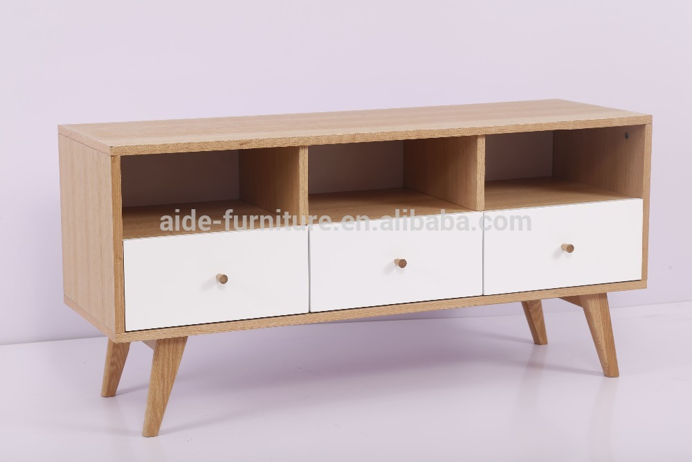 Modern wooden MDF tv stand with drawer