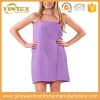 Microfiber bath wrap / Bath shower wrap / hair towel and bath wrap set