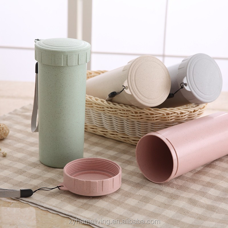 Wholesale Bamboo Fiber Tube <strong>Cup</strong> Japan With Lid
