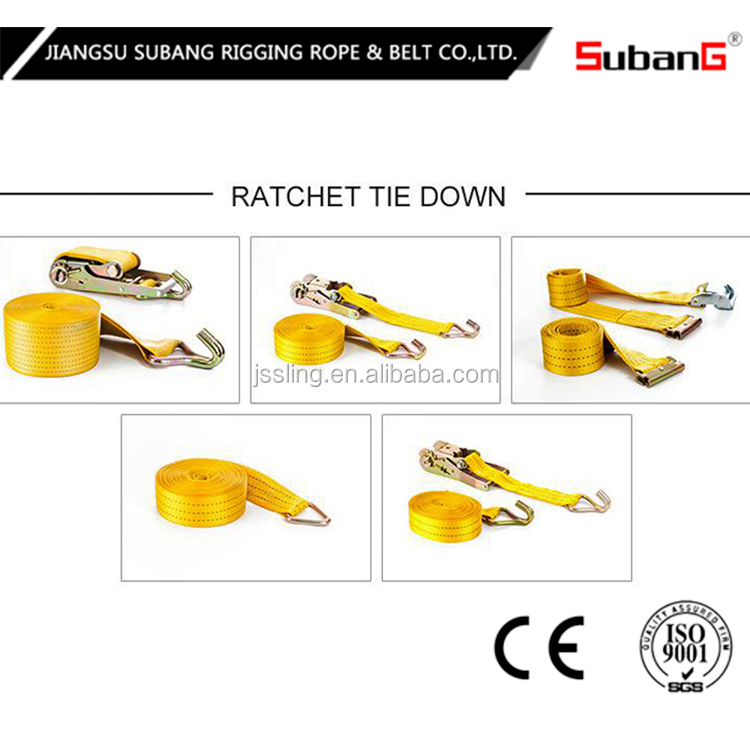 motorcycle ratchet strap assembly with CE certifacate