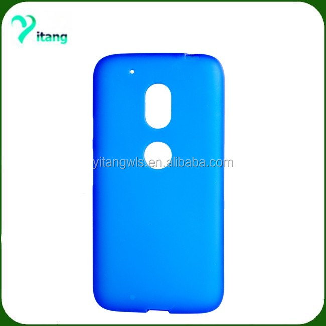 cheap case TPU material soft tpu case for Motorola Moto G4 Play XT1607 blue design Moto 4G play case